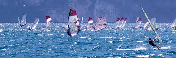 Sports at lake Garda