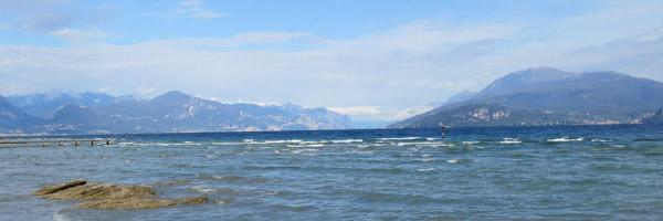 Excursions by boat at lake Garda