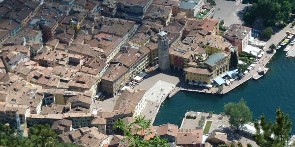 Riva del Garda – a throbbing hub for tourists