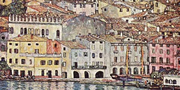 Gustav Klimt in Malcesine