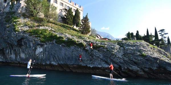 The Sup sport, get in touch with the nature