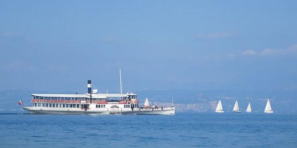 Boat trips on Lake Garda