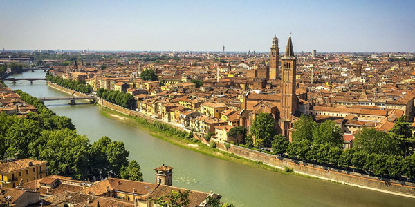 A day in the city of Verona