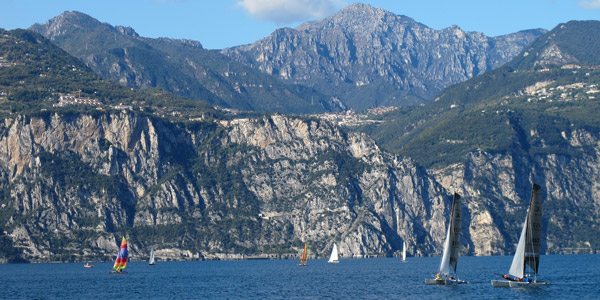 The famous winds of Lake Garda